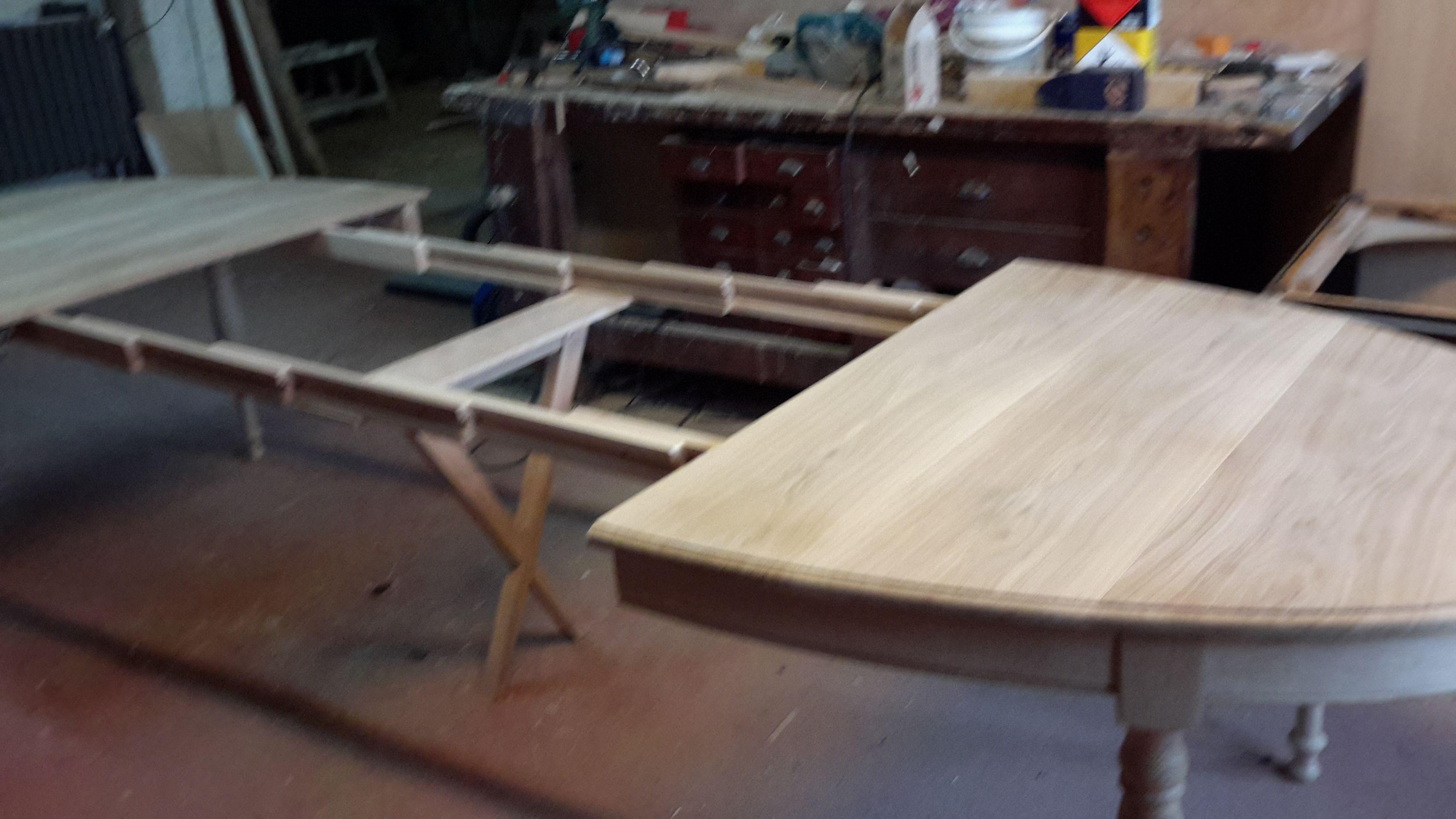 Ebenisterie rey auxonne 21 - Fabrication d une table ...